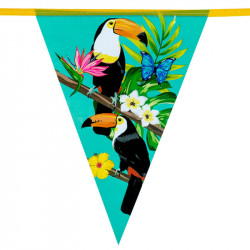 GUIRLANDE TOUCAN TROPICAL