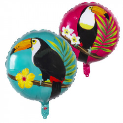 BALLON HÉLIUM TOUCAN TROPICAL
