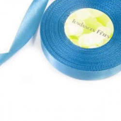 RUBAN SATIN DOUBLE FACE TURQUOISE (25MM X 25M)