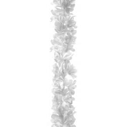 GUIRLANDE FLEURS BLANCHES (1,68M)