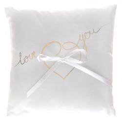 COUSSIN ALLIANCE LOVE YOU OR (18CM)