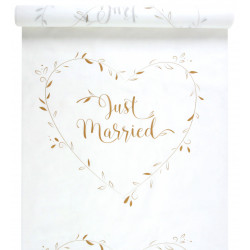 TAPIS JUST MARRIED OR (10M)