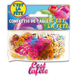 CONFETTIS DE TABLE FÊTE MULTICOLORE