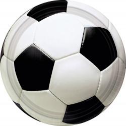 8 ASSIETTES FOOTBALL (22,8CM)