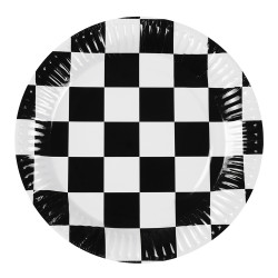 6 ASSIETTES RACING (23CM)