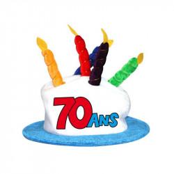 CHAPEAU ANNIVERSAIRE 70 ANS