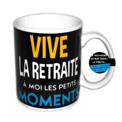 MUG HOMME VIVE LA RETRAITE
