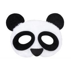DEMI-MASQUE PANDA PELUCHE