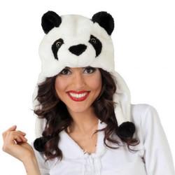 BONNET PELUCHE PANDA