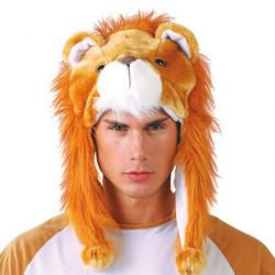 BONNET PELUCHE LION
