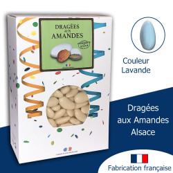 DRAGÉES AUX AMANDES ALSACE LAVANDE (1KG)
