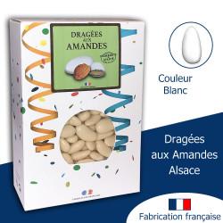 DRAGÉES AUX AMANDES ALSACE BLANC BRILLANT (1KG)