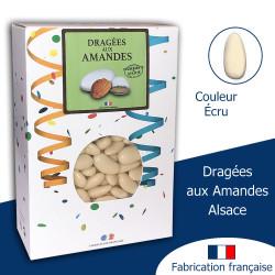 DRAGÉES AUX AMANDES ALSACE ÉCRU BRILLANT (1KG)