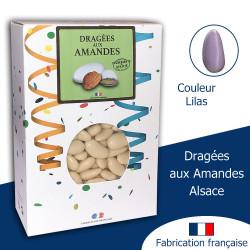 DRAGÉES AUX AMANDES ALSACE LILAS BRILLANT (1KG)