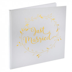LIVRE D'OR JUST MARRIED OR...