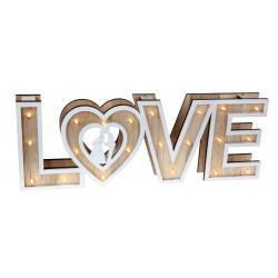 LETTRES LOVE LUMINEUSES (40CM)