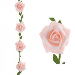 GUIRLANDE DE ROSES ROSES (50MMX1,20M)