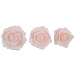 ASSORTIMENT DE ROSES ROSES X9 (5/7CM)