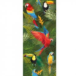 CHEMIN DE TABLE ROMANCE TROPICAL (30CM X 5M)