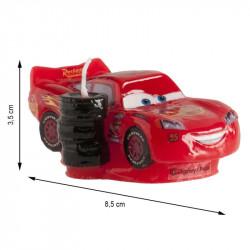 BOUGIE ANNIVERSAIRE 3D CARS (8,5CM)